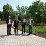 Eröffnung des Klimagartens